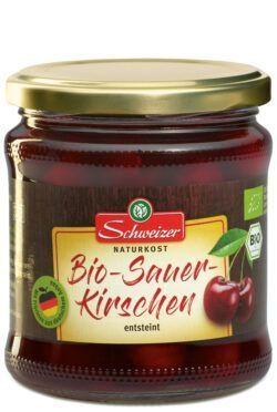Schweizer Bio Sauerkirschen 6x350g