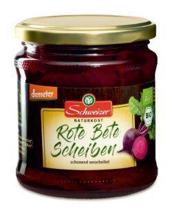 Schweizer demeter Rote Bete Scheiben 6x330g