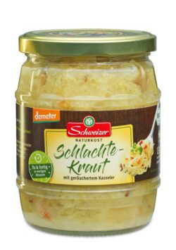 Schweizer demeter Schlachtekraut 550g