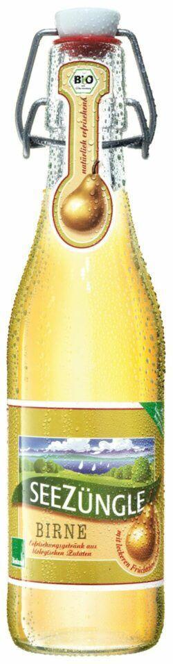 SeeZüngle Birne - biologisches Erfrischungsgetränk 11x0,33l