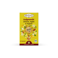 Shoti Maa Aufgeweckt - Zitrone, Apfel & Ingwer 6x32g