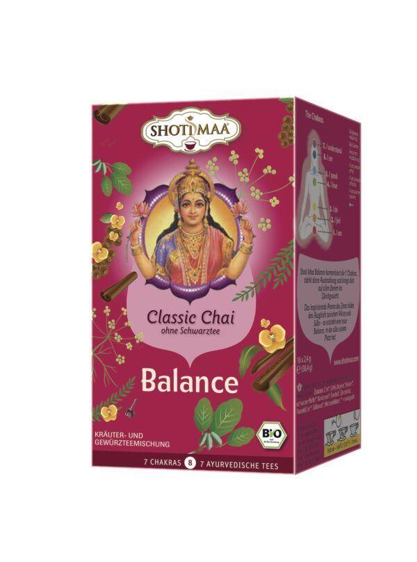 Shoti Maa Balance - Classic Chai ohne Schwarztee 6x32g
