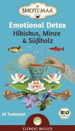 Shoti Maa Emotional Detox - Hibiskus, Minze & Süßholz 6x16Btl