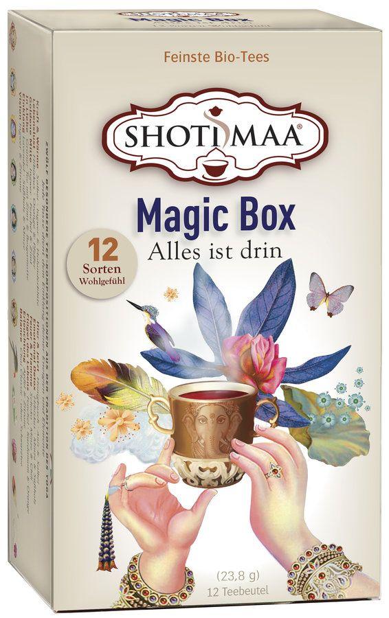 Shoti Maa Magic Box - Probier- und Geschenkpackung 6x12Btl