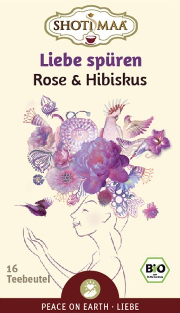 Shoti Maa PEACE ON EARTH Liebe spüren - Wilde Rose & Hibiskus 6x32g