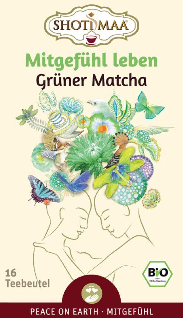 Shoti Maa PEACE ON EARTH Mitgefühl leben - Süßer Matcha 6x28,8g