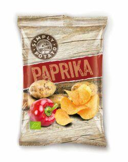 Simply Potato Bio Chips Paprika 10x100g
