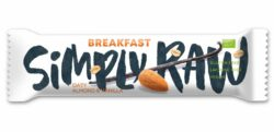 Simply Raw Breakfast Oaty Almond & Vanilla 15x40g