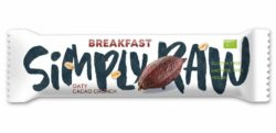 Simply Raw Breakfast Oaty Cacao Crunch 15x40g