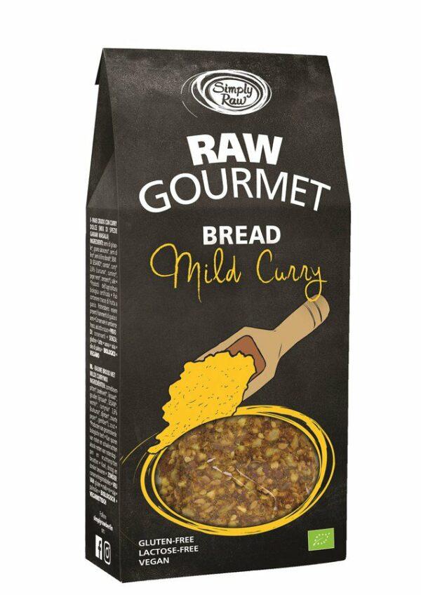 Simply Raw RAW GOURMET BREAD Mild Curry 6x90g