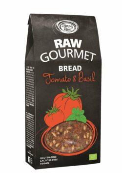 Simply Raw RAW GOURMET BREAD Tomato & Basil 6x90g