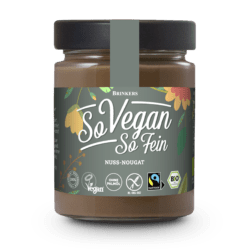 So Vegan So Fein Bio Nuss-Nougat Creme 6x270g