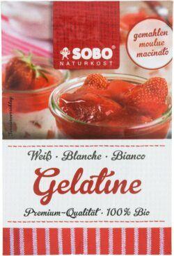 Sobo Bio Gelatine, gemahlen 15x9g