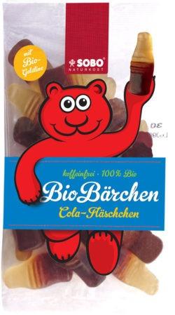 Sobo Bio-Bärchen Cola-Fläschchen 16x100g