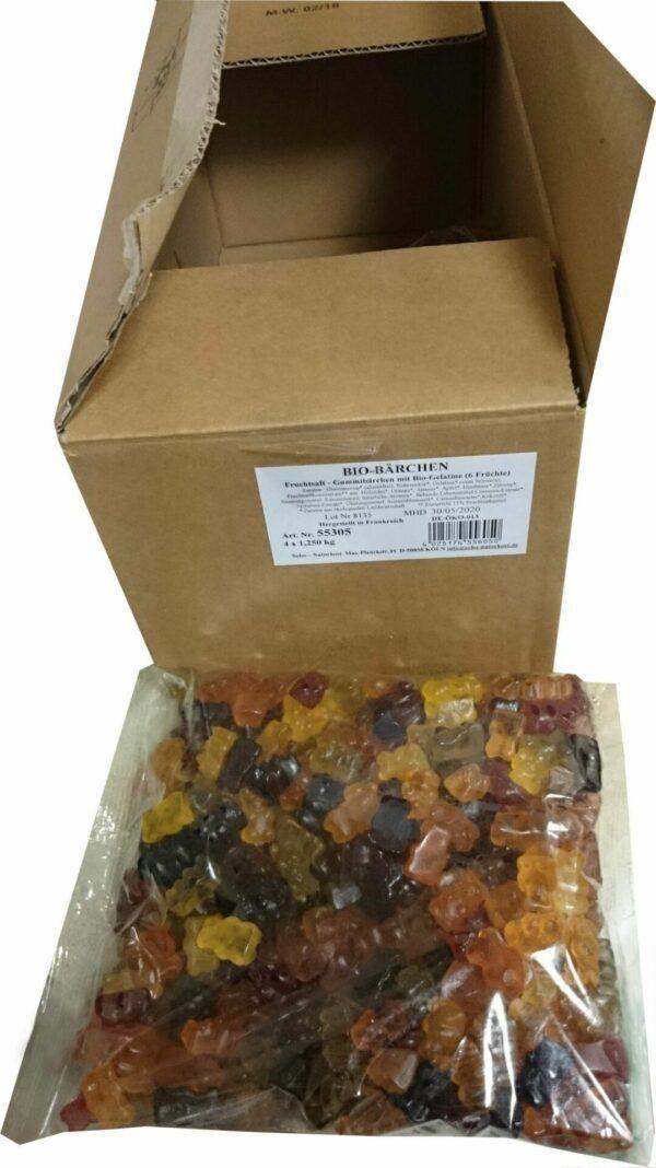 Sobo Bio-Bärchen ohne Gelatine, mit Gummi arabicum 4x1,25kg