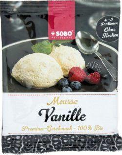 Sobo Mousse Vanille 12x75g