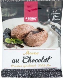 Sobo Mousse au Chocolat 12x77g