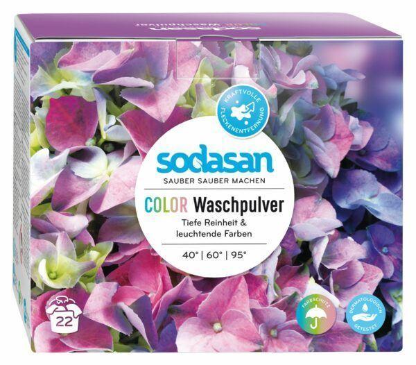 Sodasan Wasch- und Reinigungsmittel GmbH Color Waschpulver 1,2kg