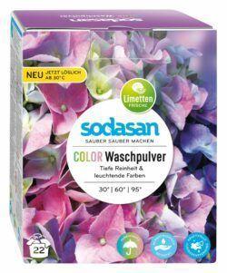 sodasan Color Waschpulver 4x1010g