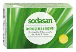 sodasan Stückseife Lemongrass & Ingwer 100g