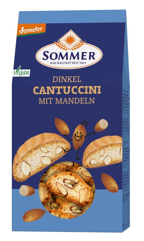 Sommer & Co. Demeter Dinkel Cantuccini vegan 150g