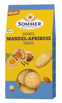 Sommer & Co. Demeter Dinkel Mandel-Aprikose 6x150g
