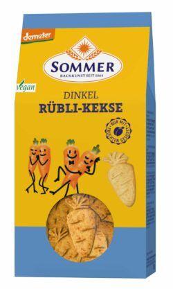 Sommer & Co. Demeter Dinkel Rübli-Kekse, vegan 6x150g