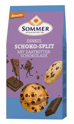 Sommer & Co. Demeter Dinkel Schoko Split 6x150g
