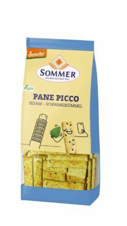 Sommer & Co. Demeter Pane Picco mit Sesam und Schwarzkümmel 6x150g