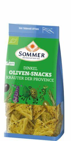 Sommer & Co. Dinkel Oliven-Snacks Kräuter der Provence 6x150g