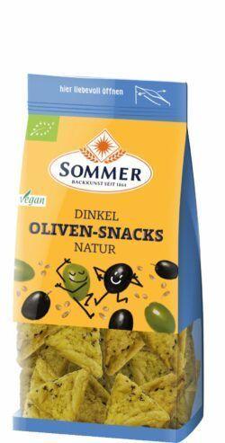 Sommer & Co. Dinkel Oliven-Snacks natur 6x150g