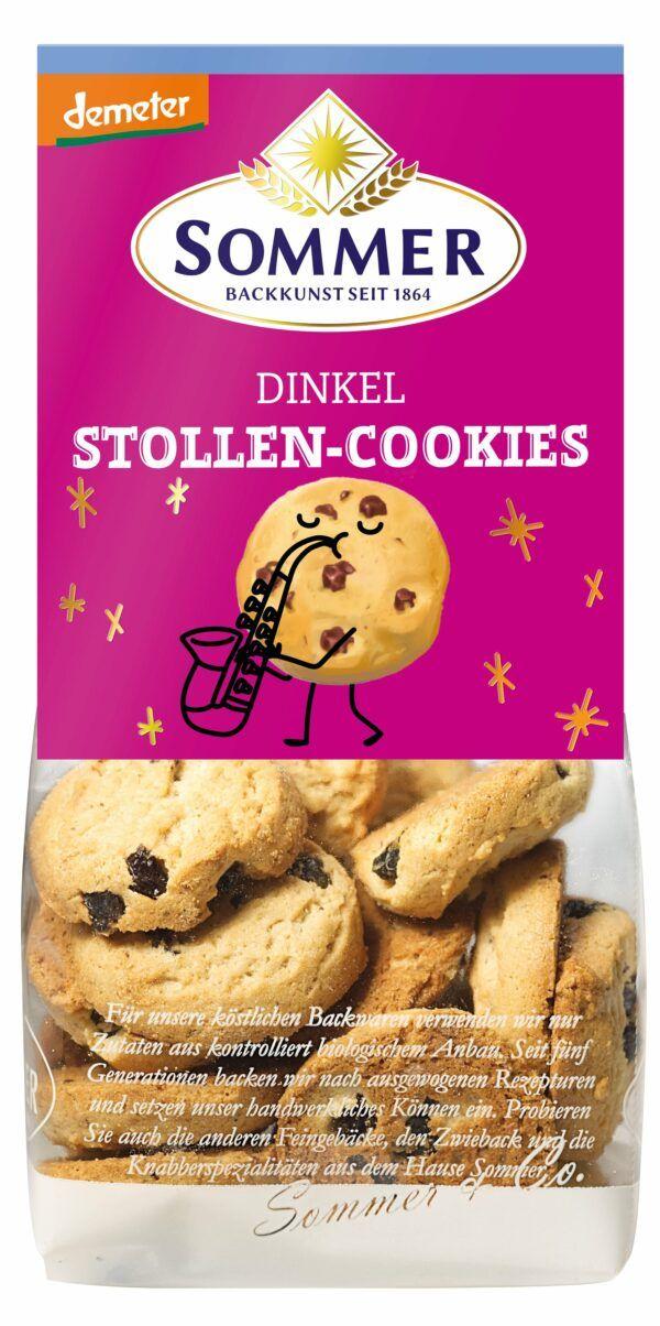 Sommer & Co. Dinkel Stollen Cookies 6x150g