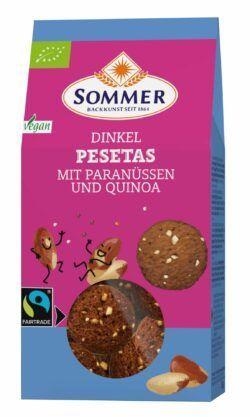 Sommer & Co. FAIRTRADE - Pesetas 6x150g