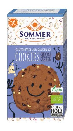 Sommer & Co. Glutenfrei und Glücklich Cookies Choco & Cashew 125g