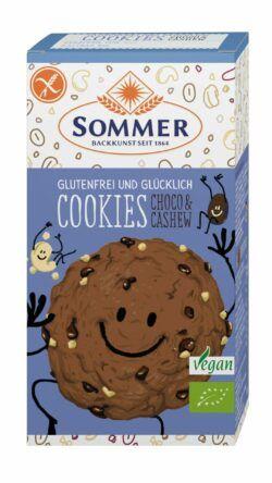 Sommer & Co. Glutenfrei und Glücklich Cookies Choco & Cashew 6x125g