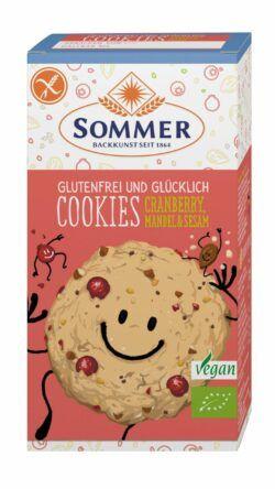 Sommer & Co. Glutenfrei und Glücklich Cookies Cranberry, Mandel & Sesam 6x125g