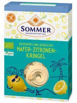 Sommer & Co. Glutenfrei und Glücklich Hafer-Zitronen-Kringel 7x150g