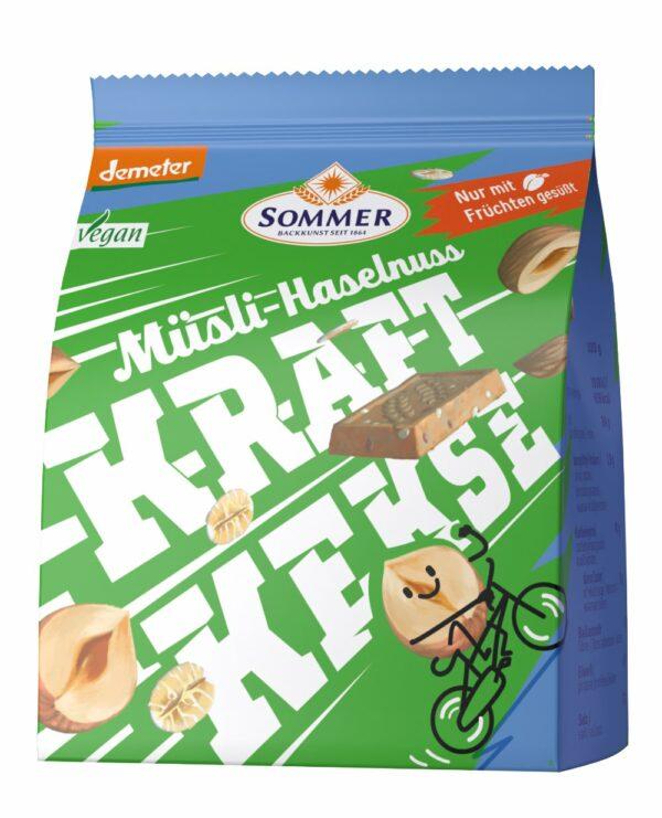 Sommer & Co. Kraft Kekse Müsli Haselnuss 80g