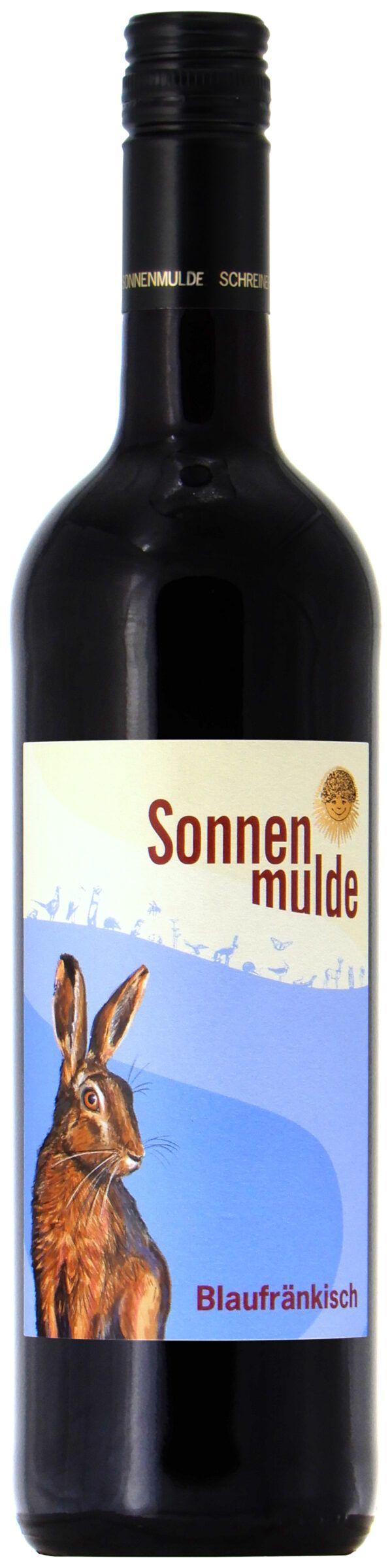 Sonnenmulde Bioweine Blaufränkisch Bio-Qualitätswein halbtrocken 6x0,75l