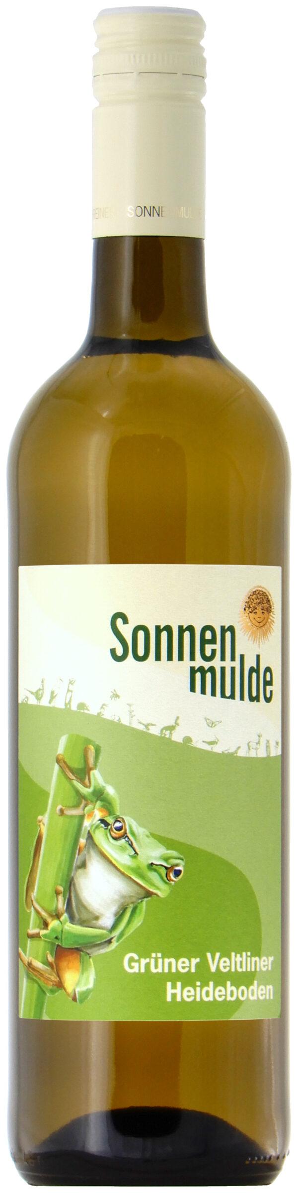 Sonnenmulde Bioweine Grüner Veltliner Heideboden Bio-Qualitätswein trocken 6x0,75l