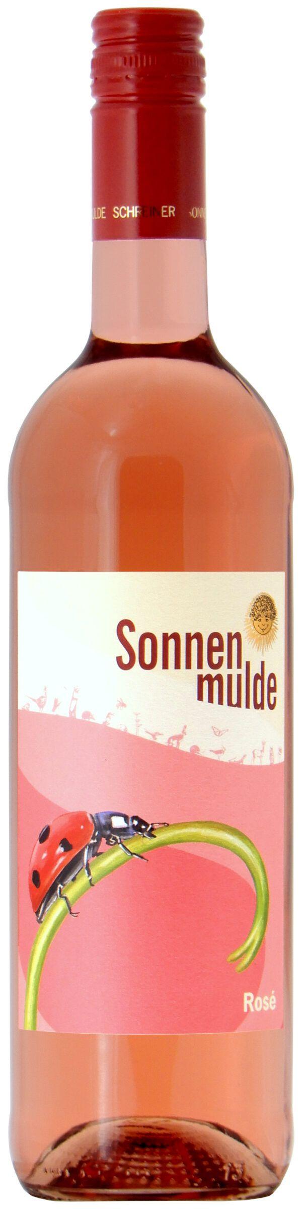 Sonnenmulde Bioweine Rosé Bio-Qualitätswein Blaufränkisch trocken 6x0,75l