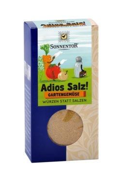 Sonnentor Adios Salz! Gemüsemischung Gartengemüse, Packung 6x60g