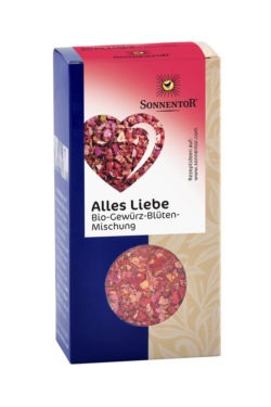 Sonnentor Alles Liebe Gewürzblüten, Packung 6x40g