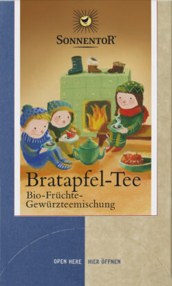 Sonnentor Bratapfel Tee, Doppelkammerbeutel 6x45g