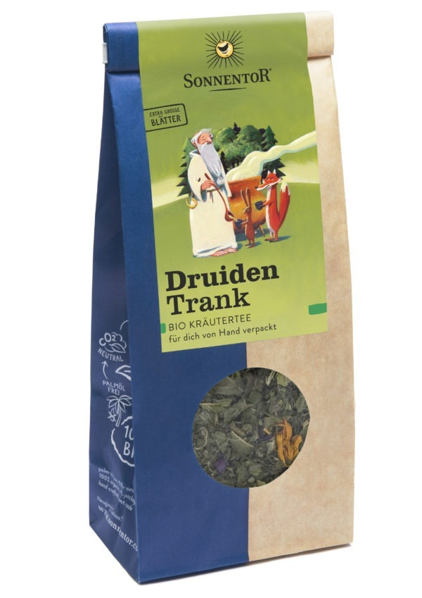 Sonnentor Druidentrank Kräutertee ohne Hanf lose 6x50g