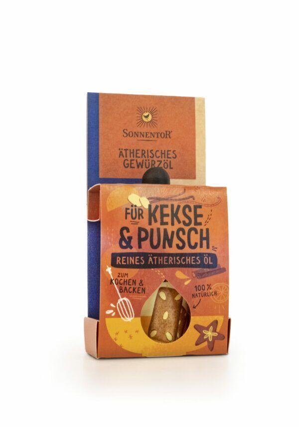 Sonnentor Für Kekse und Punsch ätherisches Gewürzöl 8x4,5ml