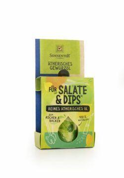 Sonnentor Für Salate und Dips ätherisches Gewürzöl 8x4,5ml