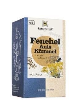 Sonnentor Fenchel - Anis - Kümmel, Doppelkammerbeutel 6x30,6g