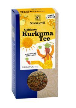 Sonnentor Goldener Kurkuma Tee lose 6x120g