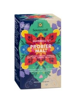 Sonnentor Happiness is® Probier mal!, Beutel 6x32,1g